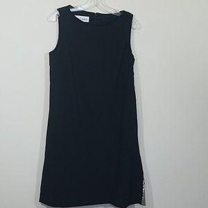 Sara Campbell Black  Shift Dress Size 8